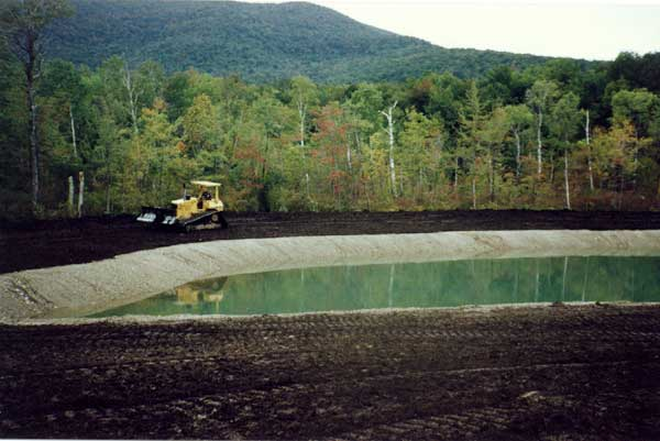 2 Acre Pond Construction : Dydo and company inc residential commercial pond
