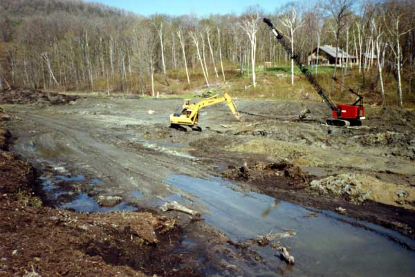 Dydo and company inc residential and commercial pond for Building a 1 acre pond
